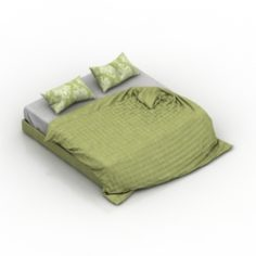 Bedclothes 3D Model