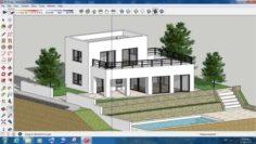 Villa sketchup – 5 3D Model