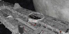 Starship troopers lunar base 3D Model