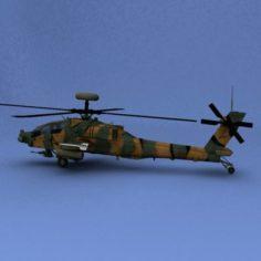 AH-64 Apache JASDFD 3D Model