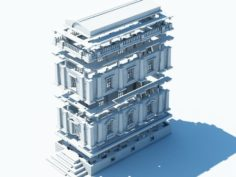 Printable Architecture Kit 2 – 3d print 3D Model