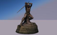 Malacath statue devil 3D Model