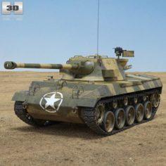 M18 Hellcat 3D Model