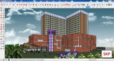 Sketchup office building G3 3D Model