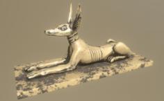 Jackal 3D Model