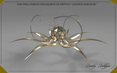 StarRoseGold 3D Model