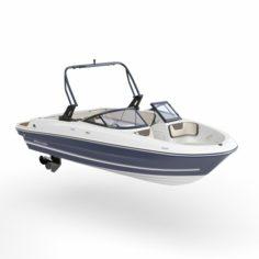 Motorboat Bayliner VR 4 3D Model