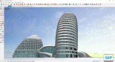 Sketchup Hotel H5 3D Model