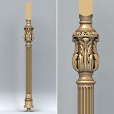 Baluster 010 3D Model