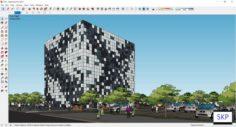 Sketchup office G10 3D Model