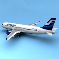 A320 finnar 3D Model