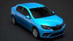 Renault Logan 2018 3D Model