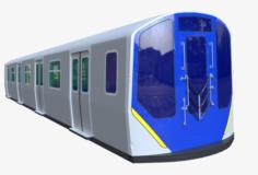 NYC subway car R211 3D Model