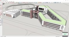 Sketchup school H9 3D Model