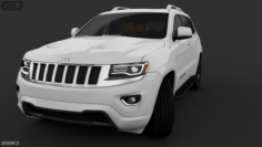 Jeep Cherokee Full Model 3D Model