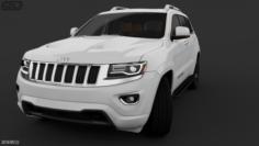 Jeep Cherokee Full Model 3D Model