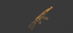 AK 47 3D Model