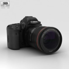 Canon EOS 5D Mark IV 3D Model