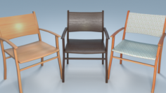 Chair8 for cafe 3D Model