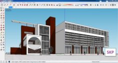 Sketchup Library M4 3D Model
