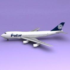 Boeing 747 Polar 3D Model