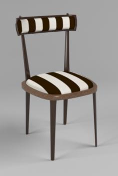 Wooden chair 3D Model