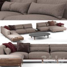Argo sofa – Porada                                      3D Model