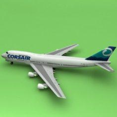 Boeing 747 Corsiar 3D Model