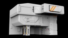 Architectural element 9 3D Model