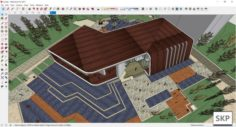 Sketchup Sale building A2 3D Model