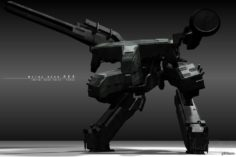 Metal Gear REX 3D Model