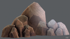 Rock V01 3D Model