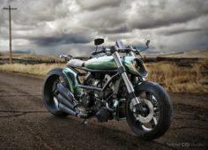 Ducati motorcycle cafe racer 3D Model