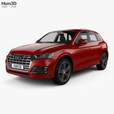 Audi Q5 S-Line 2016 3D Model