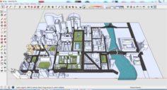 City 3d sketchup – 6 3D Model