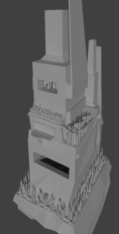 Future White City 3D Model