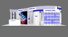Exhibition stand 31 3D Model