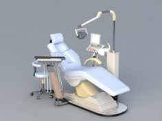 Dental Chair 3D Model