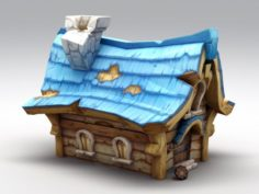 Small Medieval House 3D Model
