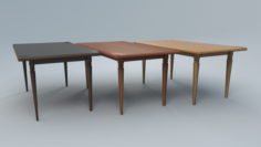 Table1forcafe Free 3D Model