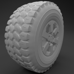 Wheel Troller High Poly 3DModel 3D Model