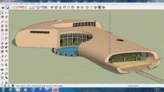 Villa sketchup – 3 3D Model
