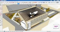 Sketchup Library M2 3D Model
