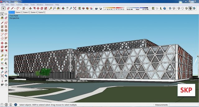 Sketchup Library M3 3D Model