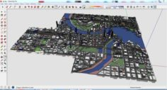City 3d sketchup – 3 3D Model