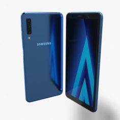 Samsung Galaxy A7 2018 Element 3D V 22 3D Model