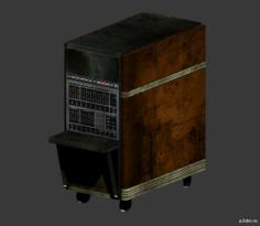 Machines Computer Cart 3D Model