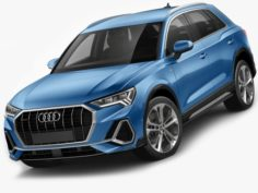 Audi Q3 2019 3D Model