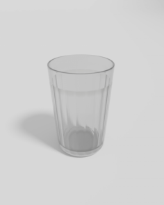 Faceted Glass 3D Model