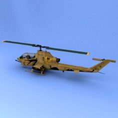 Ah-1 Israel 3D Model